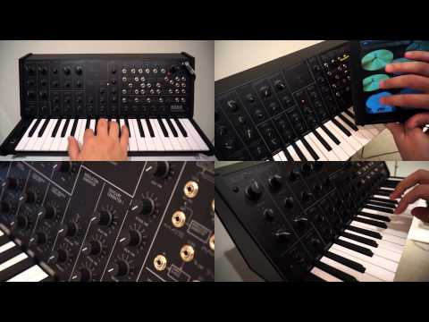 KORG MS-20 mini SONG - All sounds are made with the MS-20 mini by koishistyle!