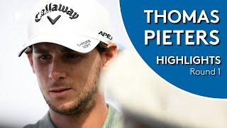 Thomas Pieters Highlights   Round 1   2019 Saudi International