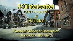 Kühtai & Kühtaisattel – Austria/Tirol - Durch die Windschutzscheibe_Komplett/Echtzeit/Real time