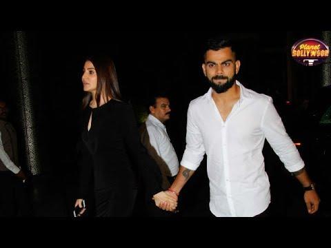 Anushka Sharma-Virat Kohli Grab Eyeballs With Their Chemistry At Zaheer Sagarika Engagement
