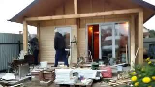 видео Баня из СИП (сэндвич) панелей своими руками, можно ли строить, как строить, отзывы