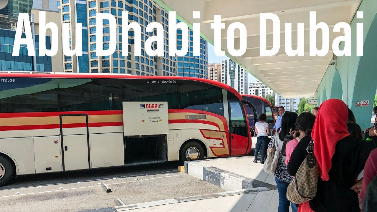 How to Get to Dubai Airport from Abu Dhabi for $8 99 USD