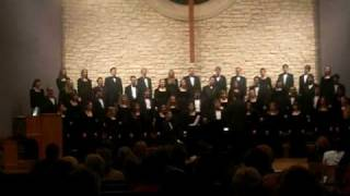 Baylor A Cappella sings Precious Lord T. Dorsey arr. A. Sevier.MOV