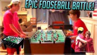 Epic Foosball Battle!
