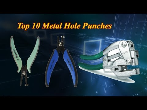 Top 10 Metal Hole Puncher Tool | Metal Hole Punch Total Tools | Sheet Metal Hole Punch Hand Tool