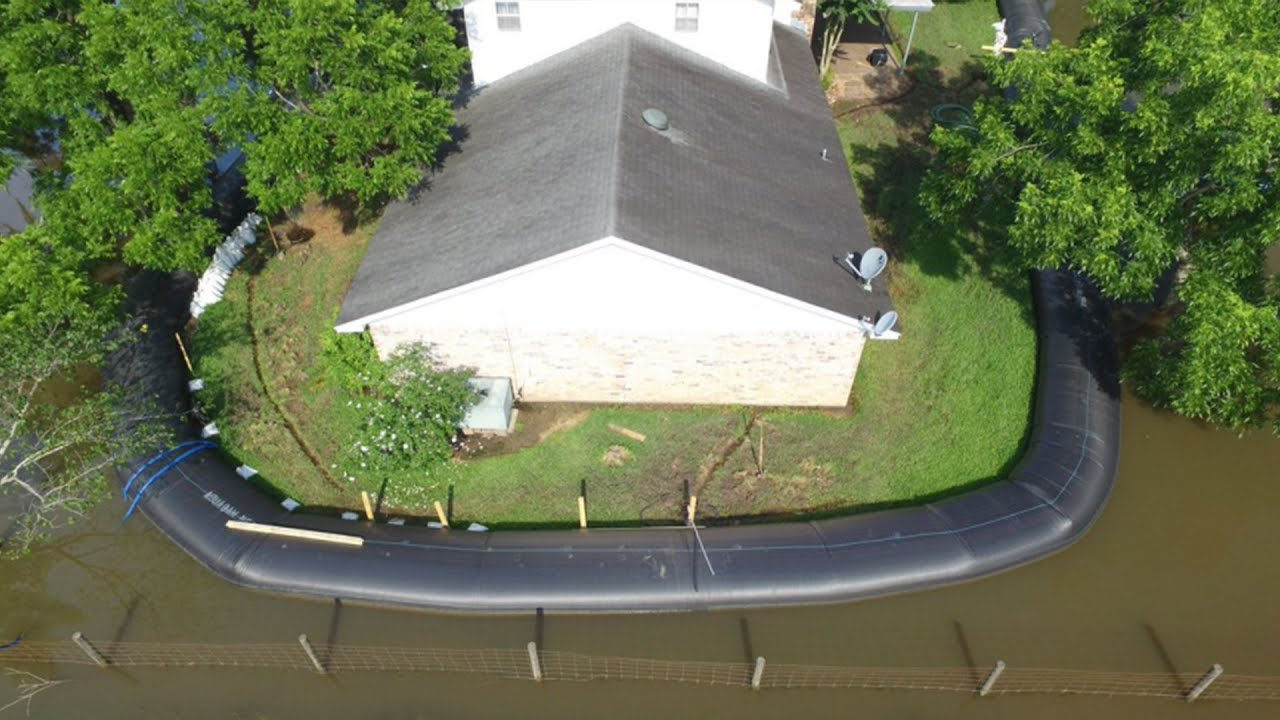 Man Saves His Home From Hurricane Flood Doing This Youtube