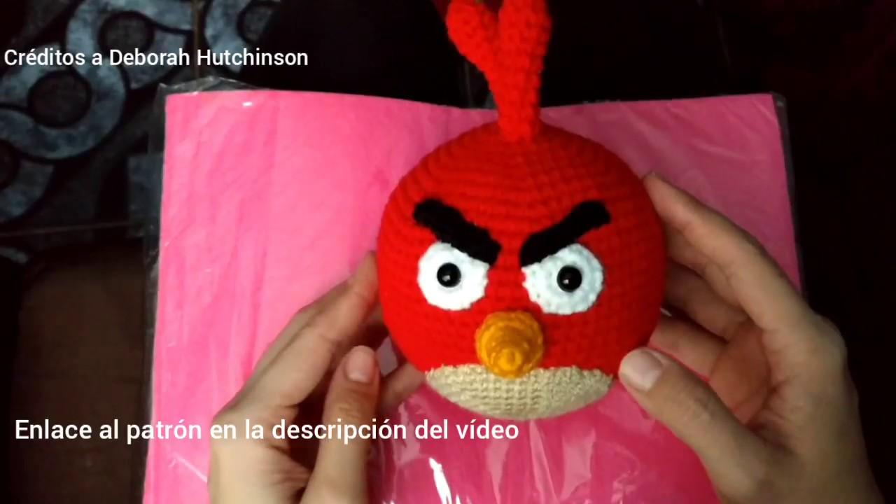 Tutorial Angry Birds Rojo Amigurumi Red 1 de 2 (English subtitles ...   720x1280