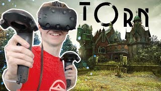 ESCAPE AN ABANDONED MANSION IN VIRTUAL REALITY! | Torn VR  (HTC Vive + Subpac Gameplay)