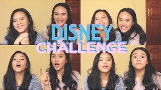 THE ULTIMATE DISNEY SONG CHALLENGE! | Kaye & Kyla