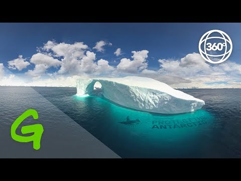 Voyage to the Antarctic with Javier Bardem (360 VR)