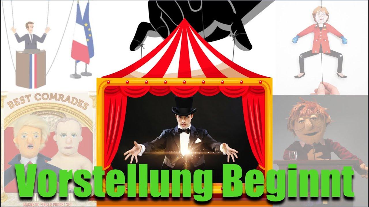 Die wahren Marionetten Meister treten NIEMALS in der Öffentlichkeit auf!