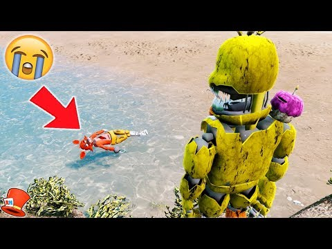 YOU'LL BE SO MAD AT NIGHTMARE CHICA AFTER YOU SEE THIS! (GTA 5 Mods For Kids FNAF RedHatter)