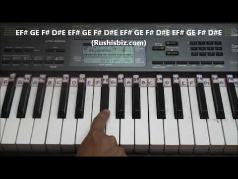 Kandukondain Kandukondain / Priyuraalu Pilichindi (BGM) - Piano Tutorials