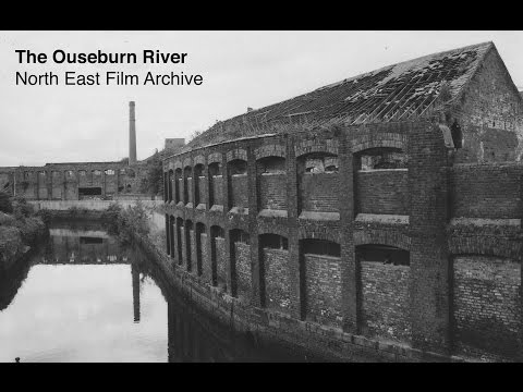The Ouseburn River. North East Film Archive