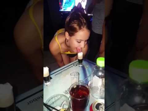 sexy girls showing best bj drink skills