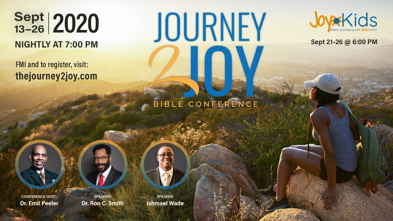 Journey 2 Joy Virtual Bible Conference Night 4