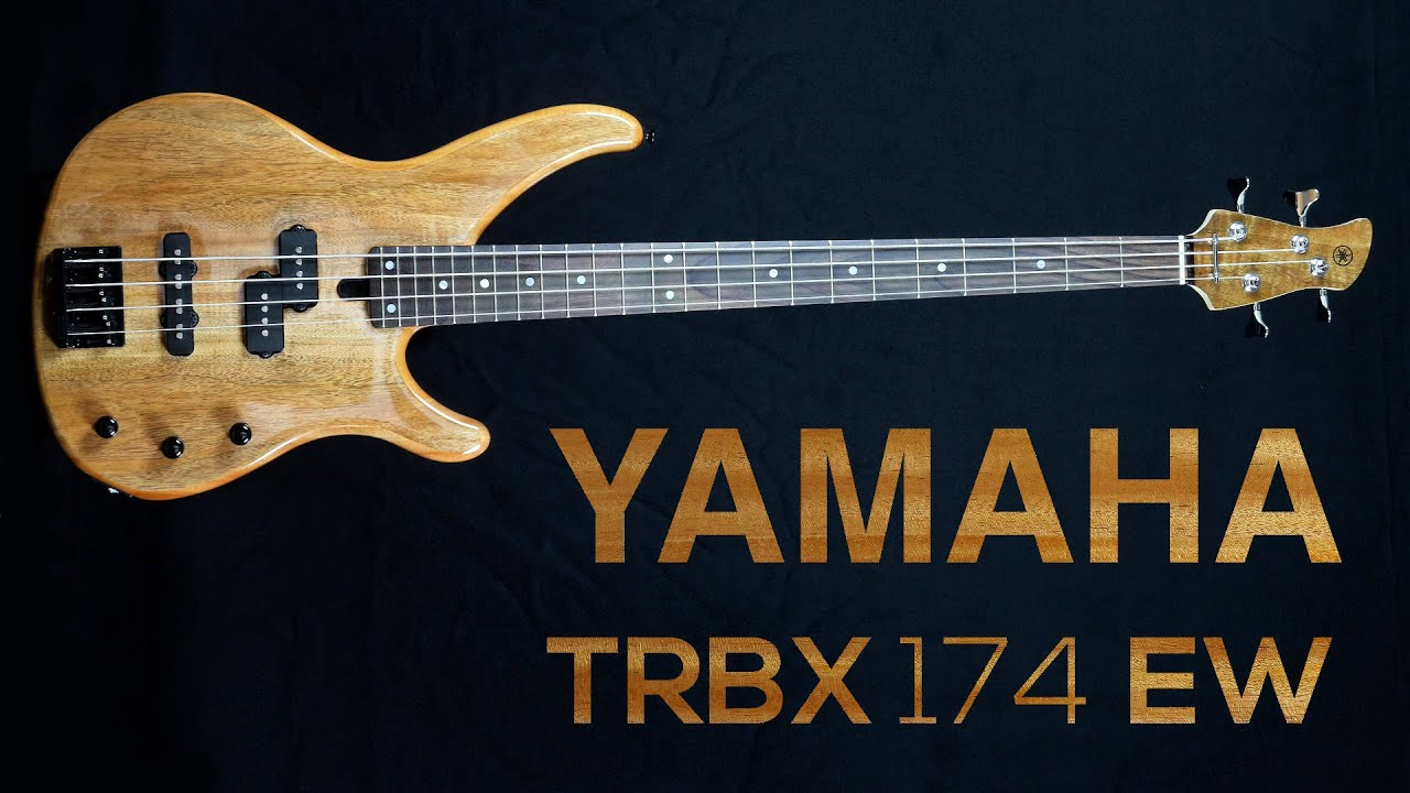 yamaha trbx 174 ew gotoh 201b 4 sound test youtube. Black Bedroom Furniture Sets. Home Design Ideas