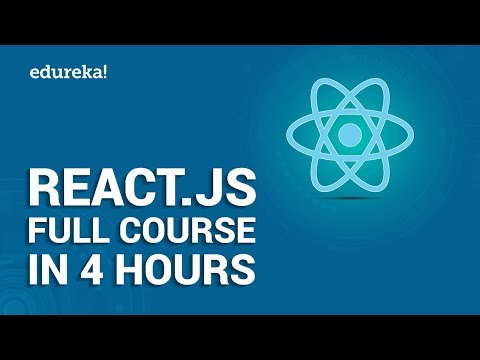 React.js Full Course for Beginners | Learn React.js in 4 Hours | React.js Tutorial | Edureka thumbnail