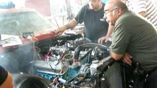 1969 pontiac firebird 400 cid el cucaracho she starts for the very first time