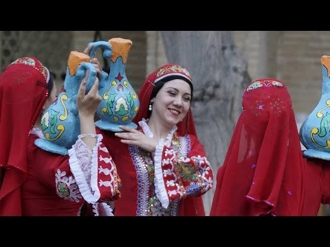 Women's dance, Bukhara, Uzbekistan