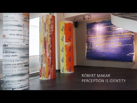 "<span class=""title"">Perception is Identity Róbert Makar</span>"