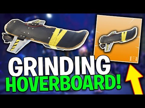 Grinding For The *NEW* Hoverboard! Fortnite Save The World