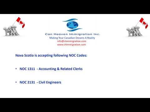 Nova Scotia PNP wihtout Job Offer is Open