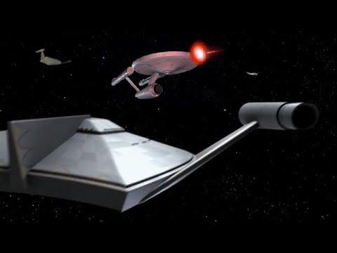 Enterprise Attacked By Ten Romulan Bird-of-Preys