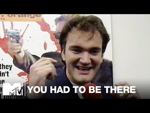 Quentin Tarantino at the Video Store Where He Worked (1993) | You Had To Be There