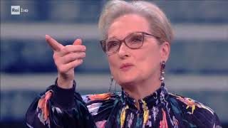 Meryl Streep e Tom Hanks (2^ parte) - Che tempo che fa 14/01/2018