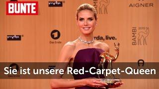 Heidi Klum - Red Carpet Queen beim BAMBI  - BUNTE TV