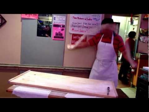 Hand-pulled noodles at China Way (on El Camino, in Santa Clara