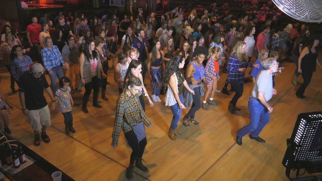 51b2ef574af3 Florida Travel: Line Dancing in Davie at Round Up Country NightClub -  YouTube