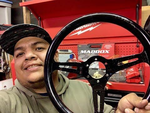 DIY| Homemade hotboi steering wheel!