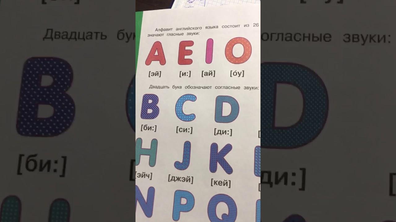 Английский для детей: алфавит английского языка - YouTube
