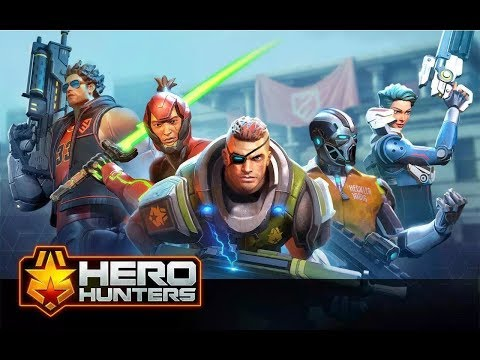 HEROHUNTER - Full Mobile Gameplay||🔥Trending🔥||Won Full team Match   PART -1