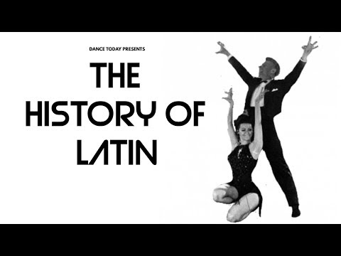 HISTORY OF LATIN DANCESPORT