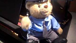 Singing Bad Boys Cop - Teddy Bear Policeman