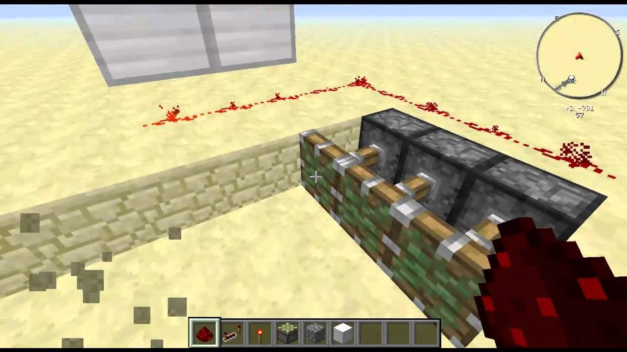 Download Minecraft Redstone Piston Trap - Minecraft Redstone Tuzak Piston