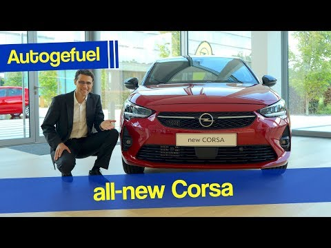 2020 Corsa REVIEW with Interior Opel Vauxhall Corsa-e vs Corsa GS-Line - Autogefuel