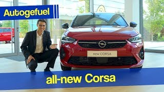 2020 Corsa Review with Interior Opel Vauxhall Corsa-e vs Corsa GS-Line - Autogefuel