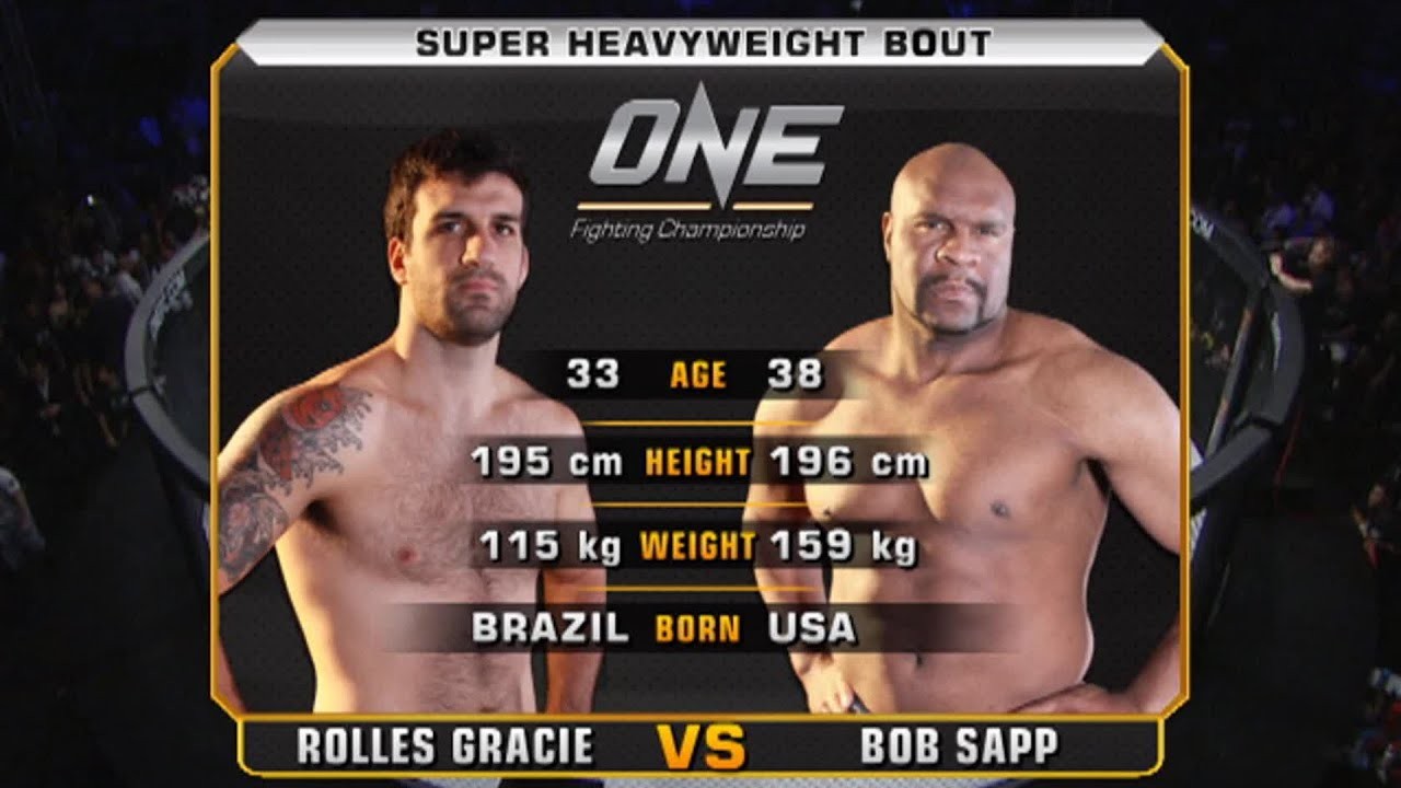 Rolles Gracie vs. Bob Sapp | Full Fight Replay