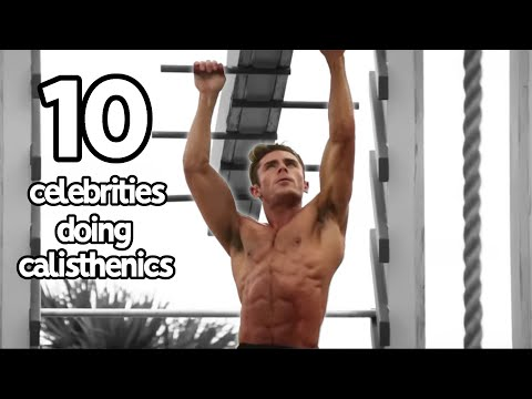 Top 10 Celebrities Who've Trained With Calisthenics
