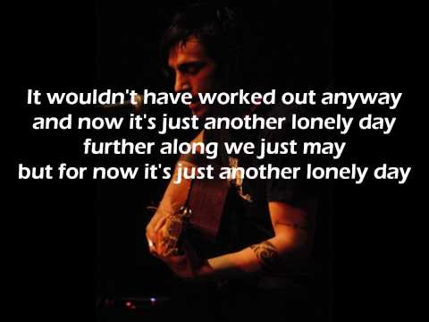 Adam Gontier - Another Lonely Day + lyrics