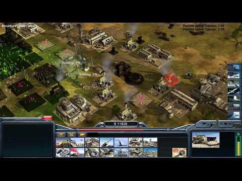 C&C Operation Firestorm: Airforce General vs Secret Weapons General