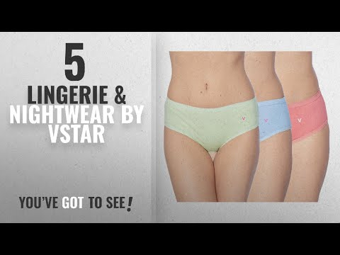 Top 10 Vstar Lingerie & Nightwear [2018]: V STAR Panties Pack of 3 (Panty_Flower3Pcs_Assorted)