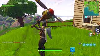 *NEW* PROPELLER AXE FORTNITE PICKAXE SOUND EFFECTS AND GAMEPLAY! @XLPHILLY