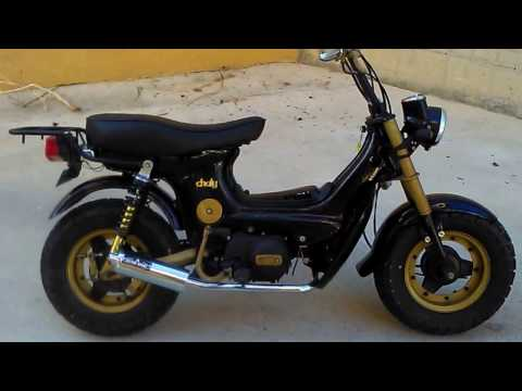 Honda Chaly 72cc, racing parts