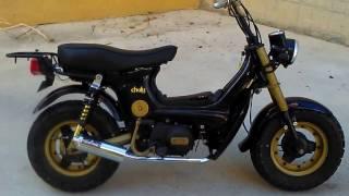 Honda Chaly 72cc, racing parts