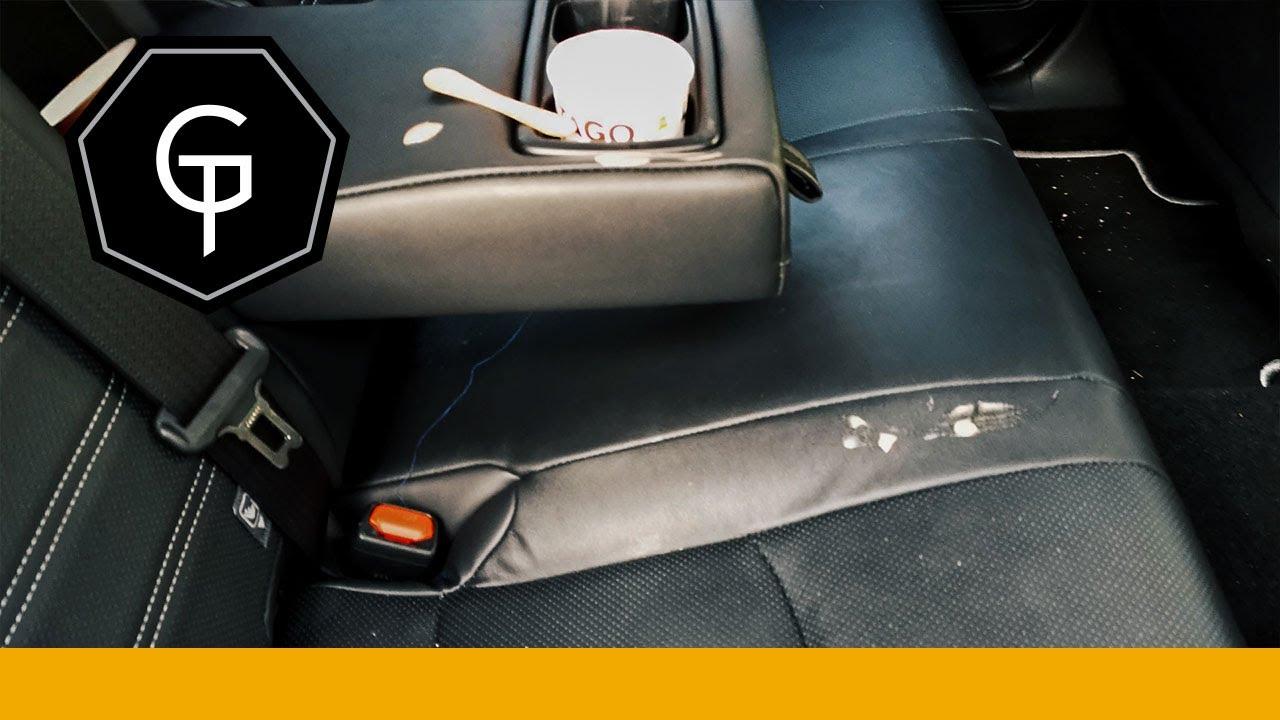 laga skinn bilstol